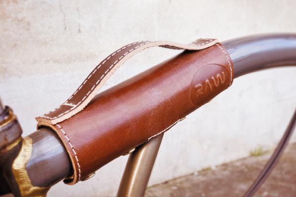 Brown brompton handle
